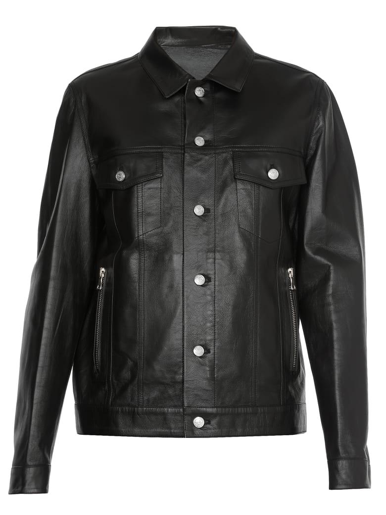 Balmain Leather Jacket - NOIR