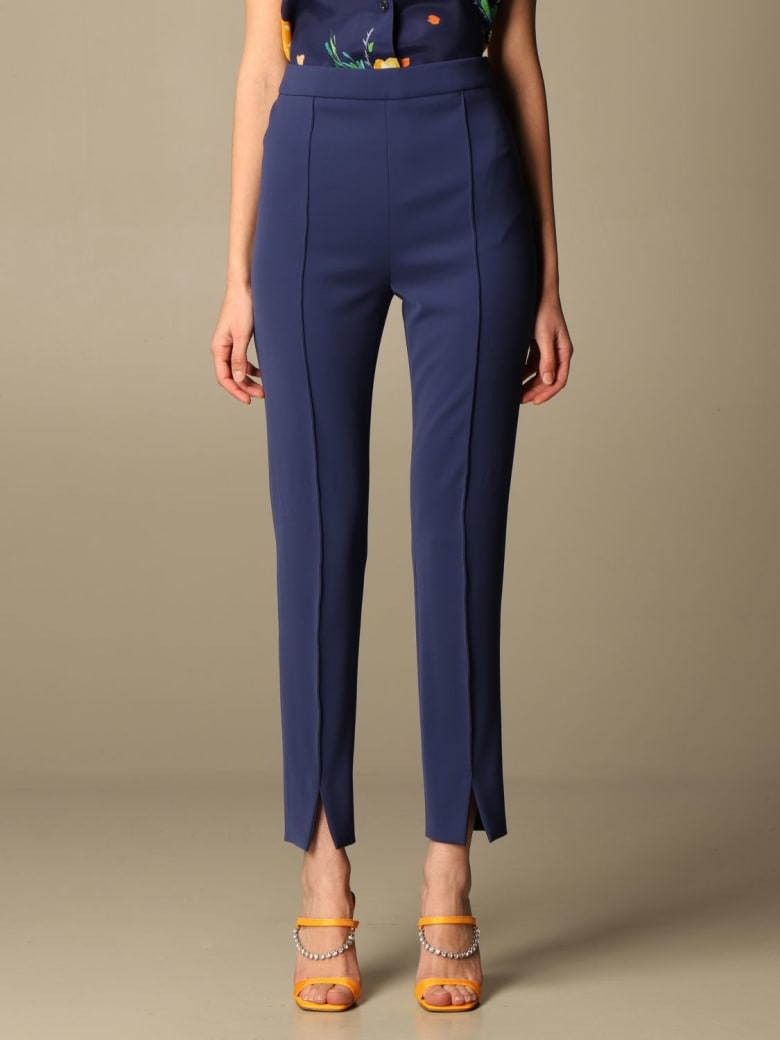 Boutique Moschino Pants Moschino Boutique Slim Cady Trousers - Blue