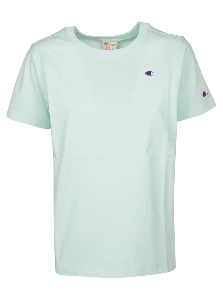 Champion Logo Embroidered T-shirt - Hde