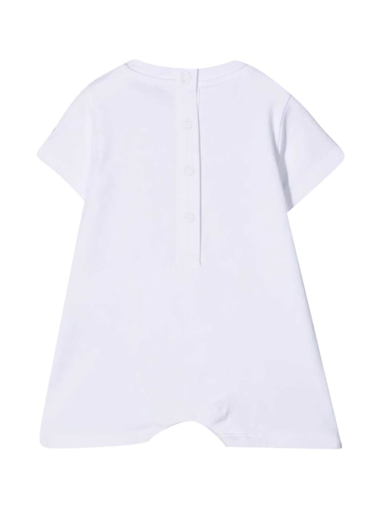 Moncler White Baby Suit - Bianco