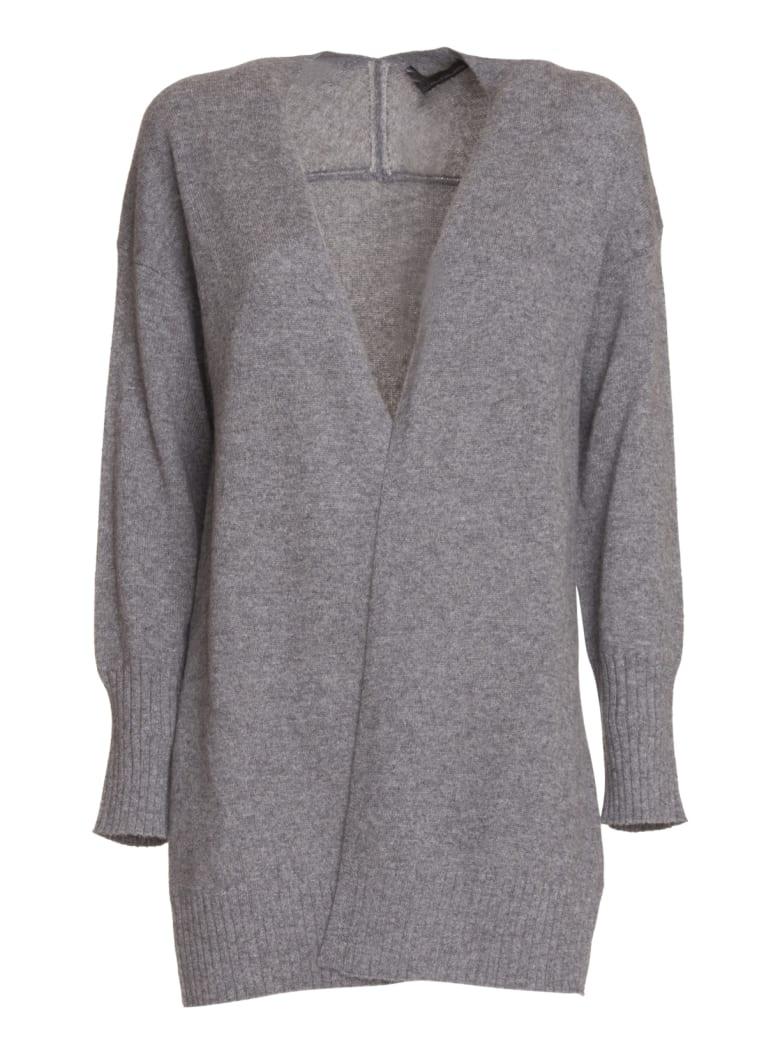 360 Sweater 360 Cashmere Ariana Cardigan - GRIGIO