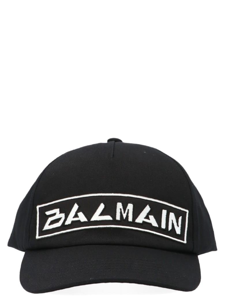 Balmain 'japan Logo' Cap - Black
