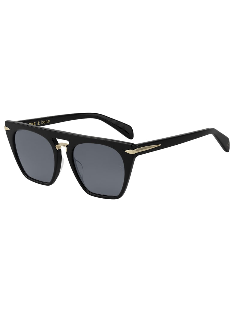Rag & Bone RNB1022/S Sunglasses - /ir Black