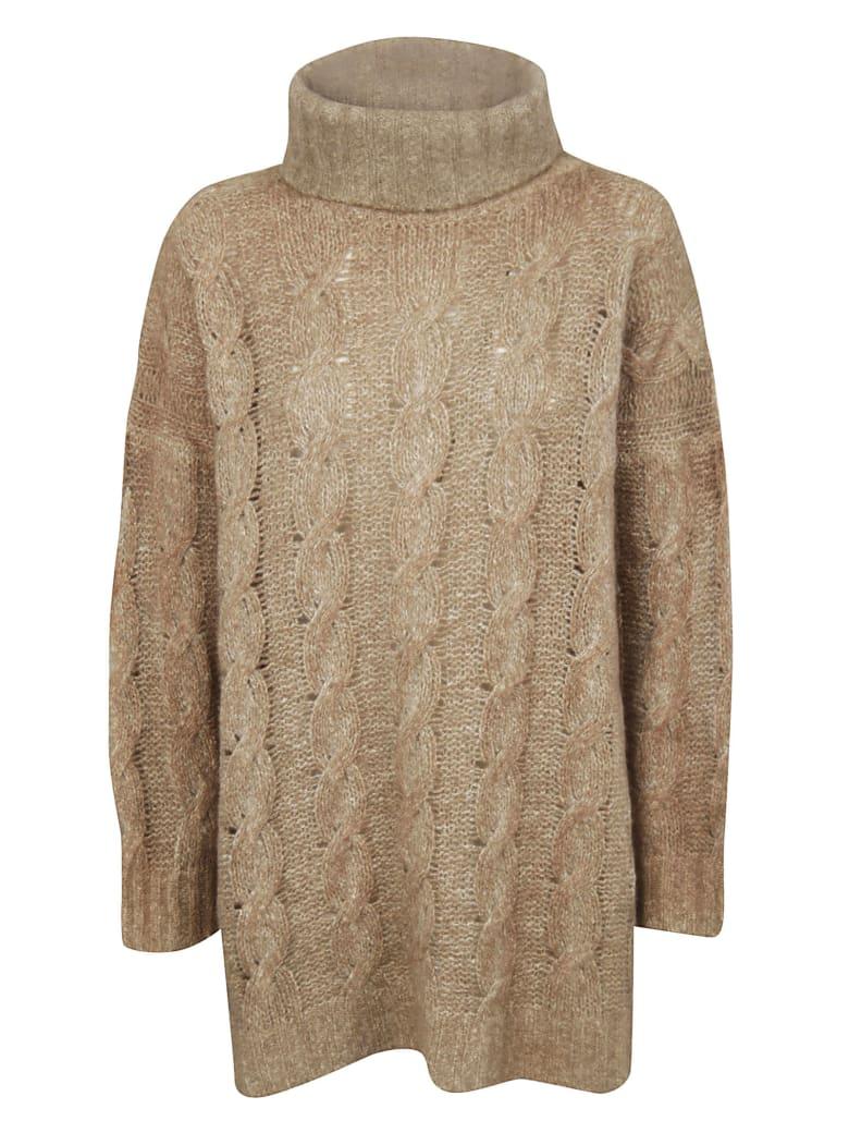 f cashmere Turtleneck Sweater - Atlantic