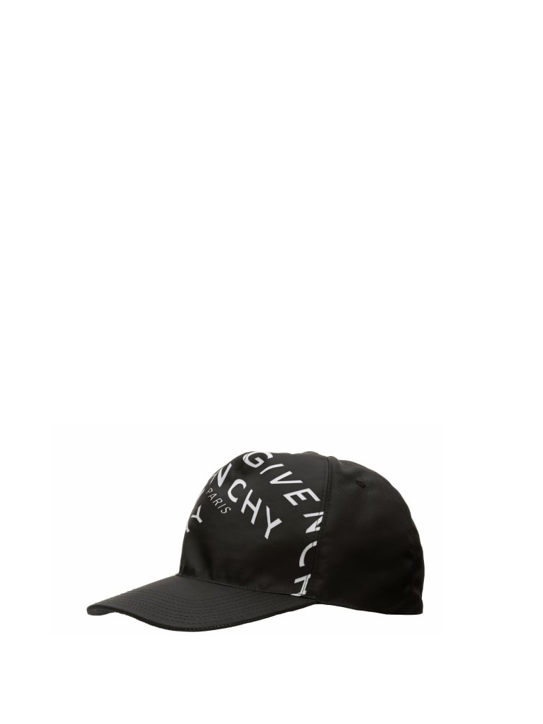 Givenchy Refracted Logo Cap - Nero
