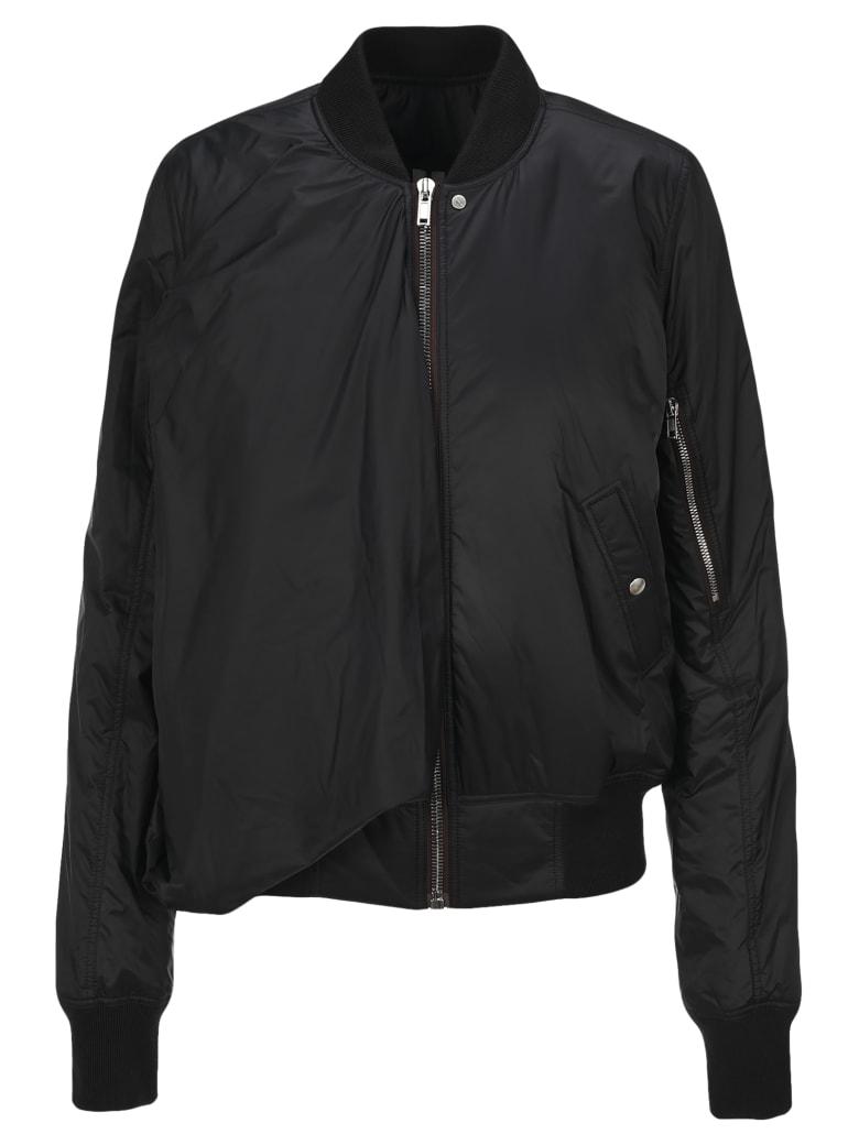 Rick Owens Seb Bomber Jacket - BLACK