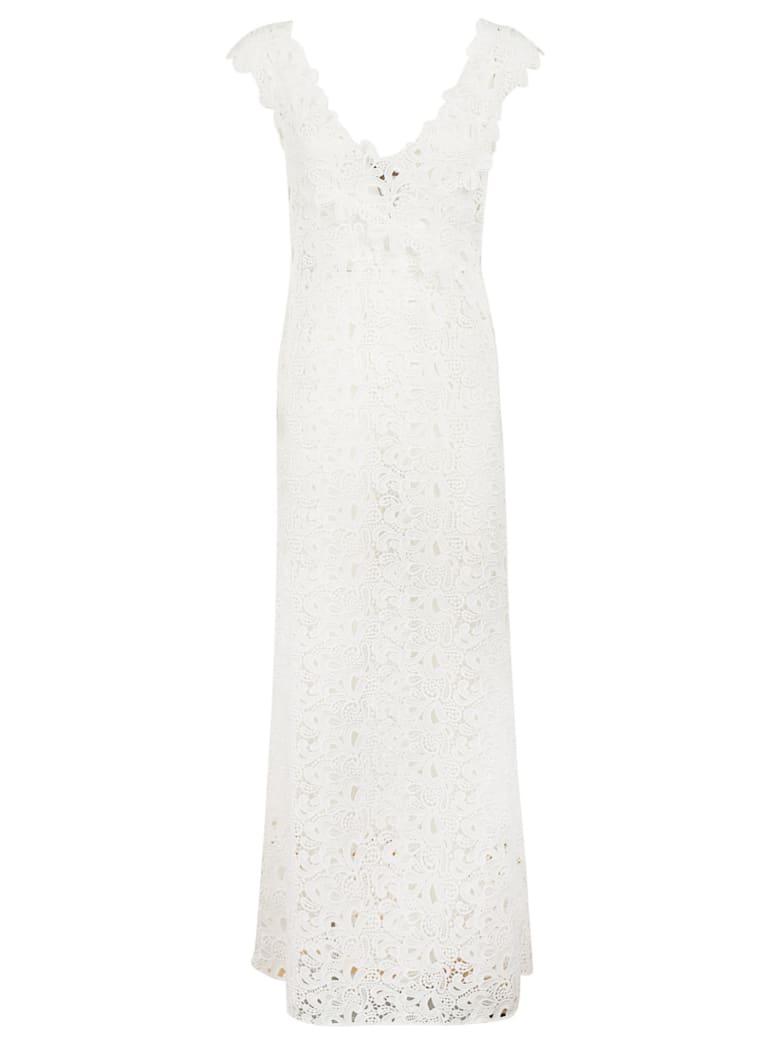 Ermanno Scervino Embroidered Dress - white