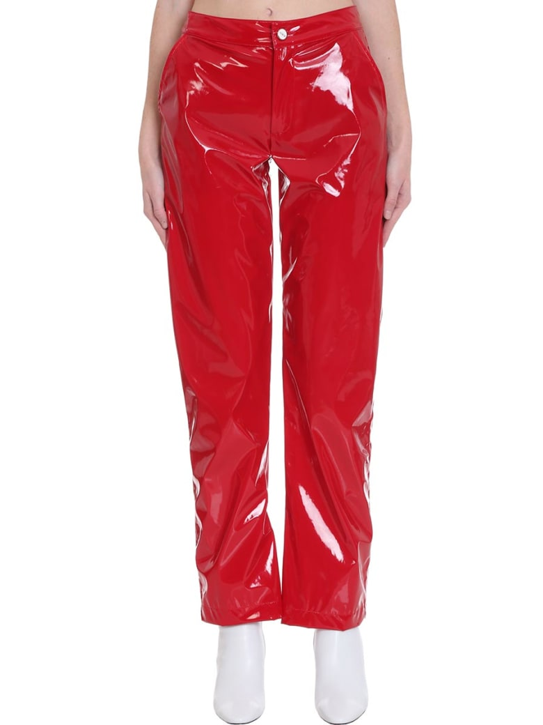 Kirin Pants In Red Tech/synthetic - red