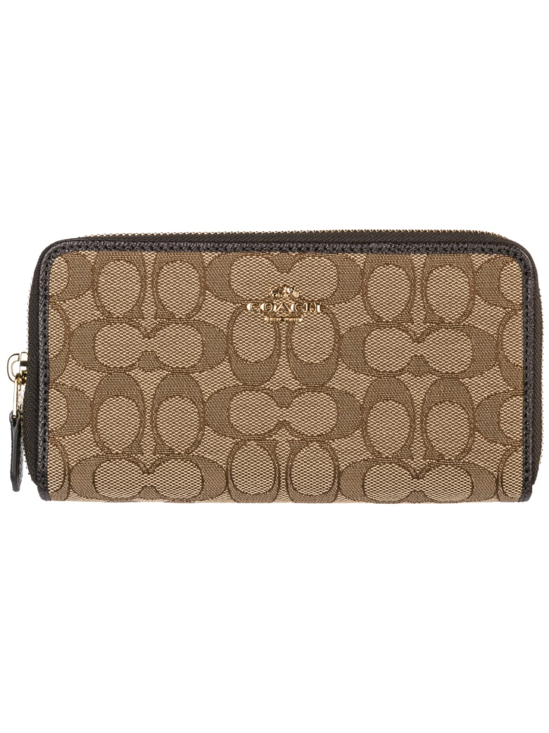 Coach Harrison Wallet - Khaki Brown