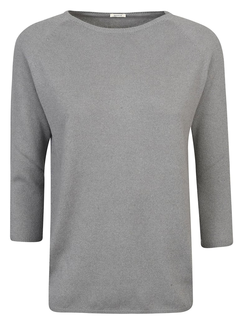 A Punto B Slim Sweater - Stone