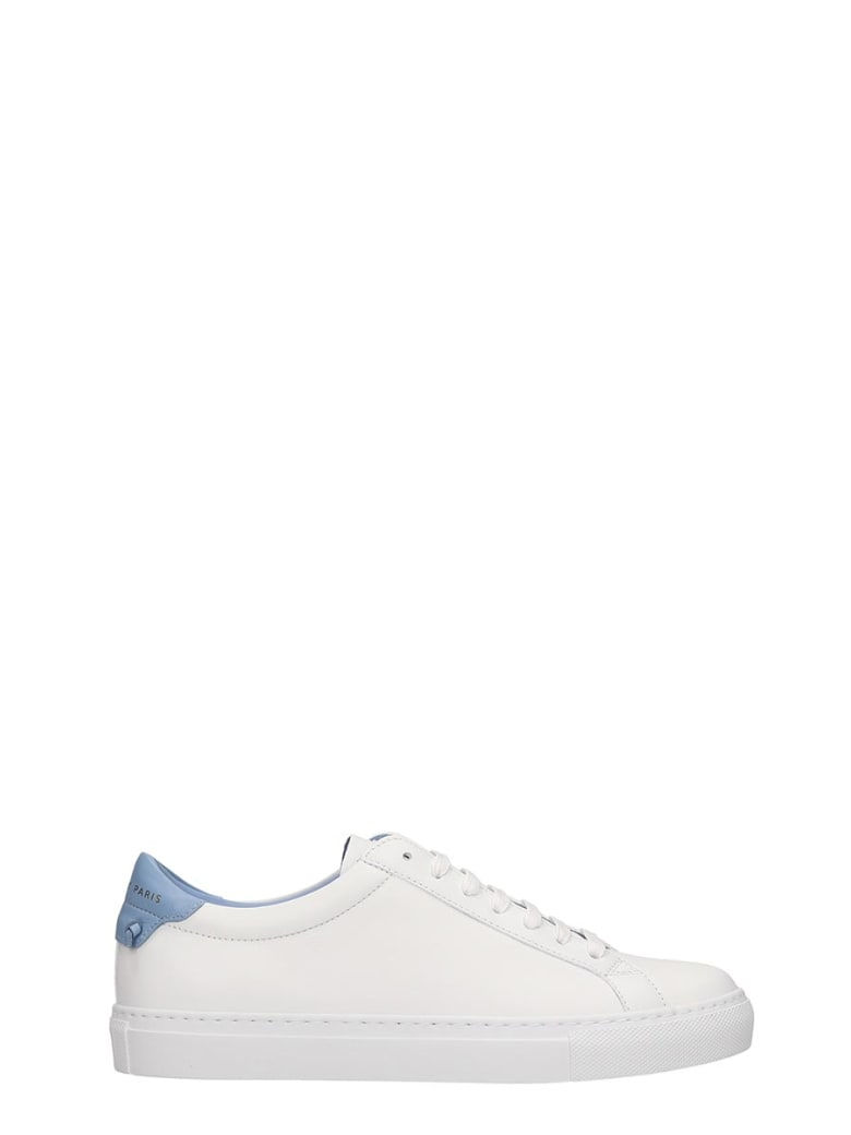 Givenchy Urban Street Sneakers In White Leather - white