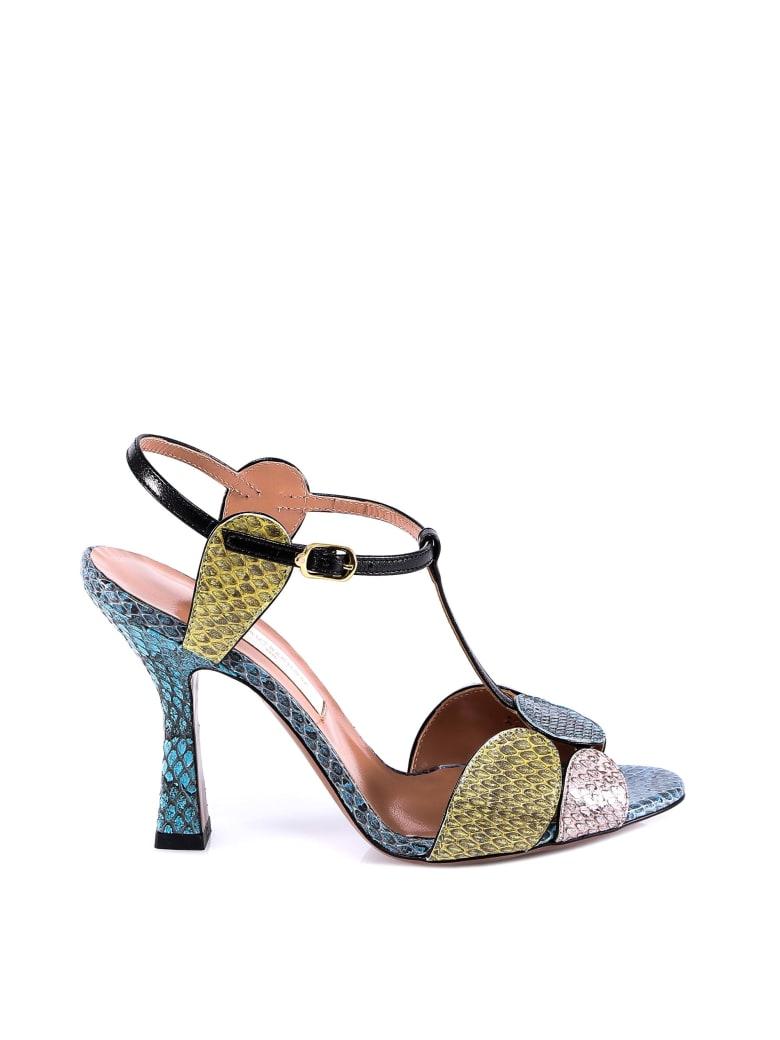 L'Autre Chose Sandals - Multicolor