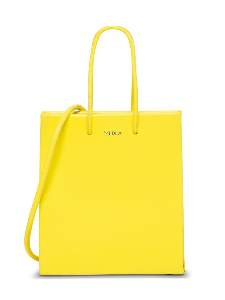 Medea Short Long Crossbody Bag - Yellow