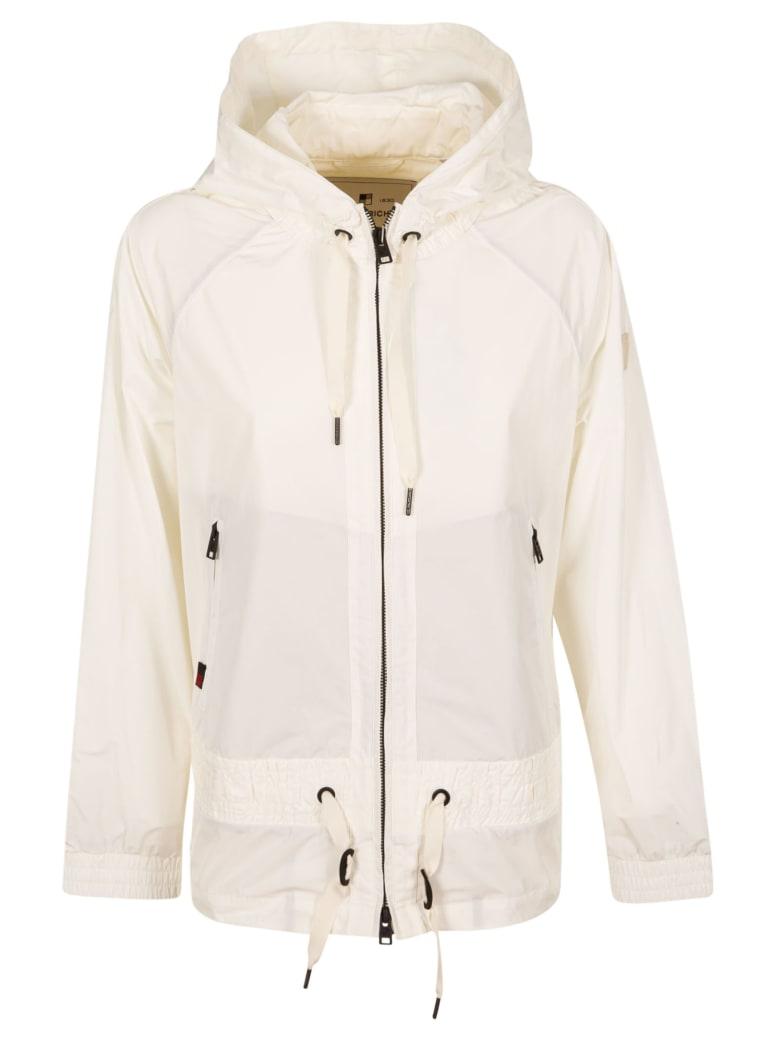 Woolrich Side Zip Hoodie - White