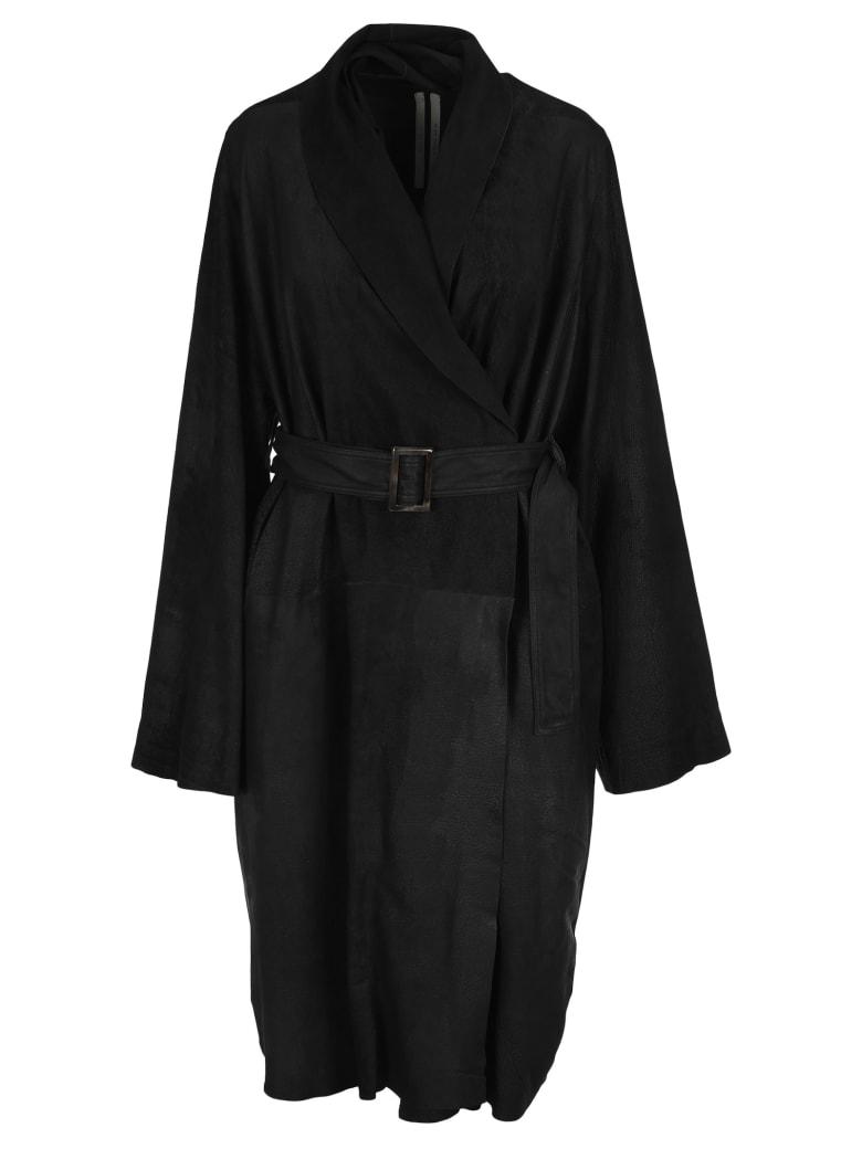 Rick Owens Tecuatl Mountain Coat - BLACK