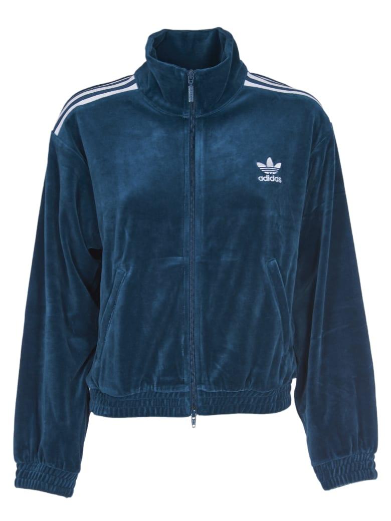 Best price on the market at italist | Adidas Originals Adidas Originals Track Jacket Velour