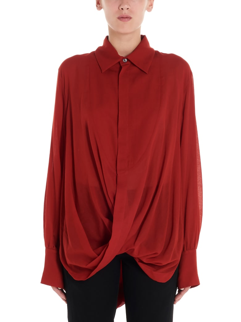 Ann Demeulemeester Shirt - Red
