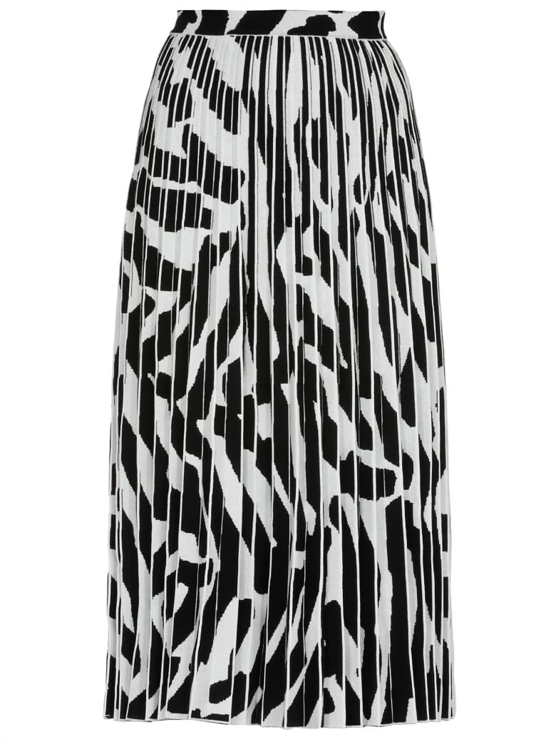 Proenza Schouler Pleated Skirt - SNOW/BLACK