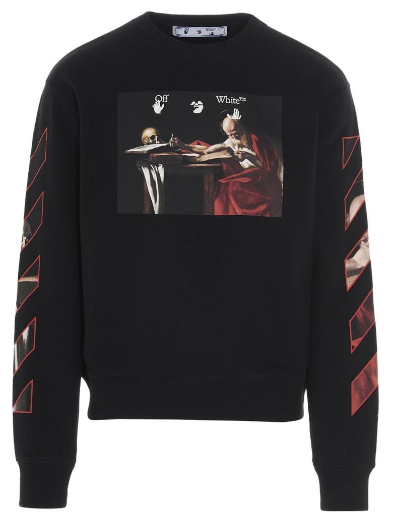 Off-White 'caravaggio'  Sweatshirt - Black
