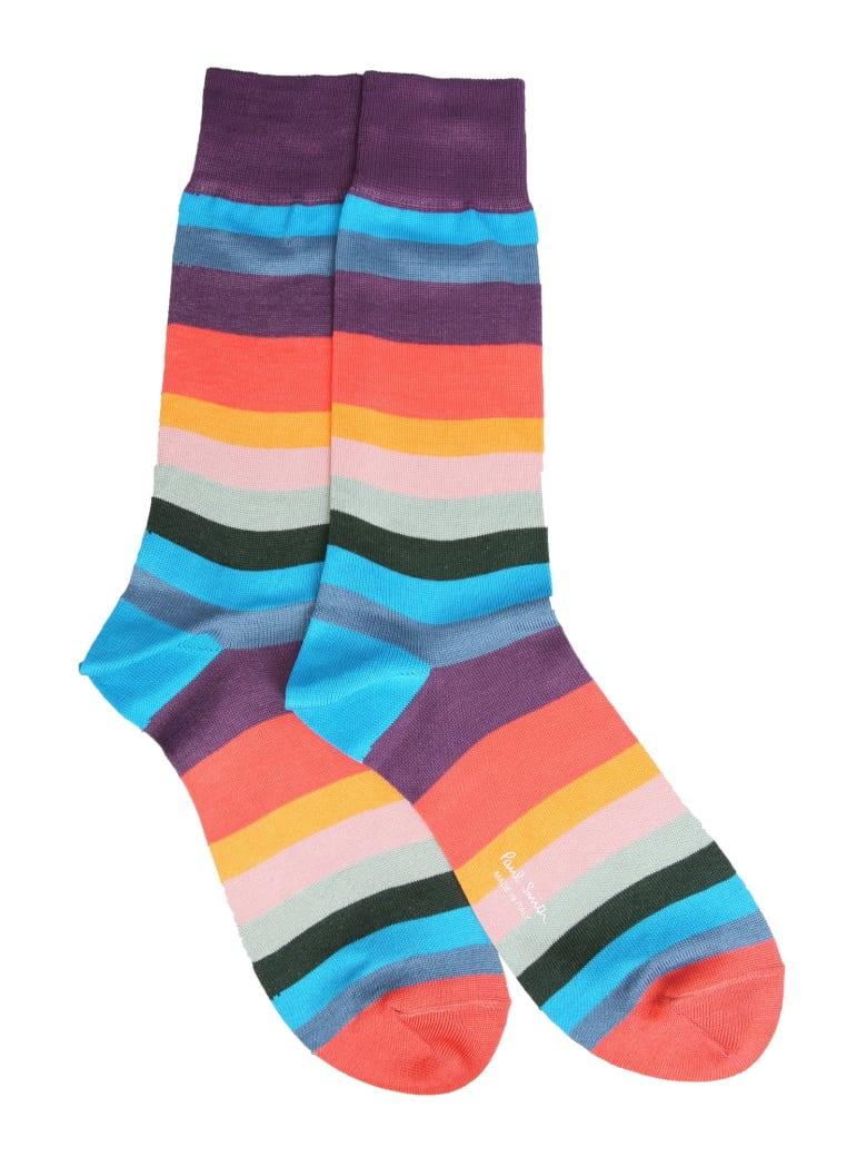 Paul Smith Artist Stripe Socks - MULTICOLOR