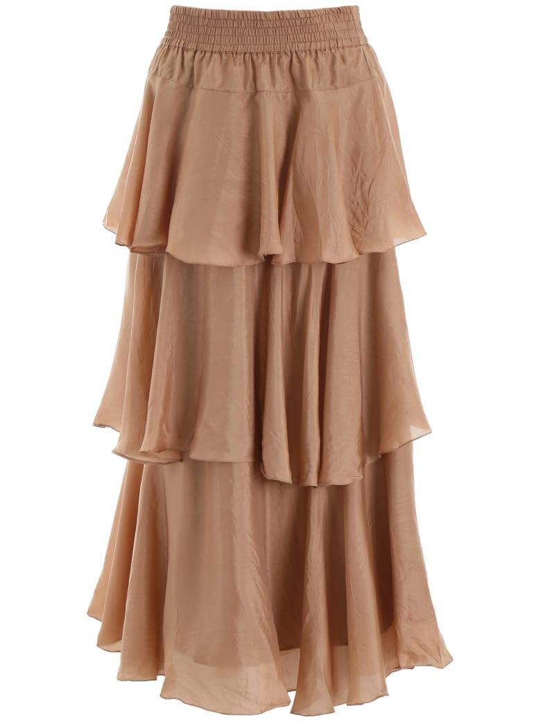 Mes Demoiselles Medusa Skirt - NUDE (Pink)