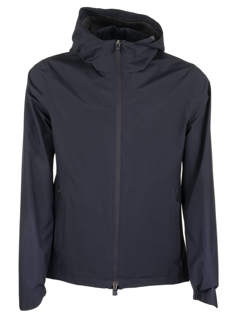HERNO CROSSOVER JACKET IN 2-LAYER GORE-TEX PACLITE SHELL LAMINAR
