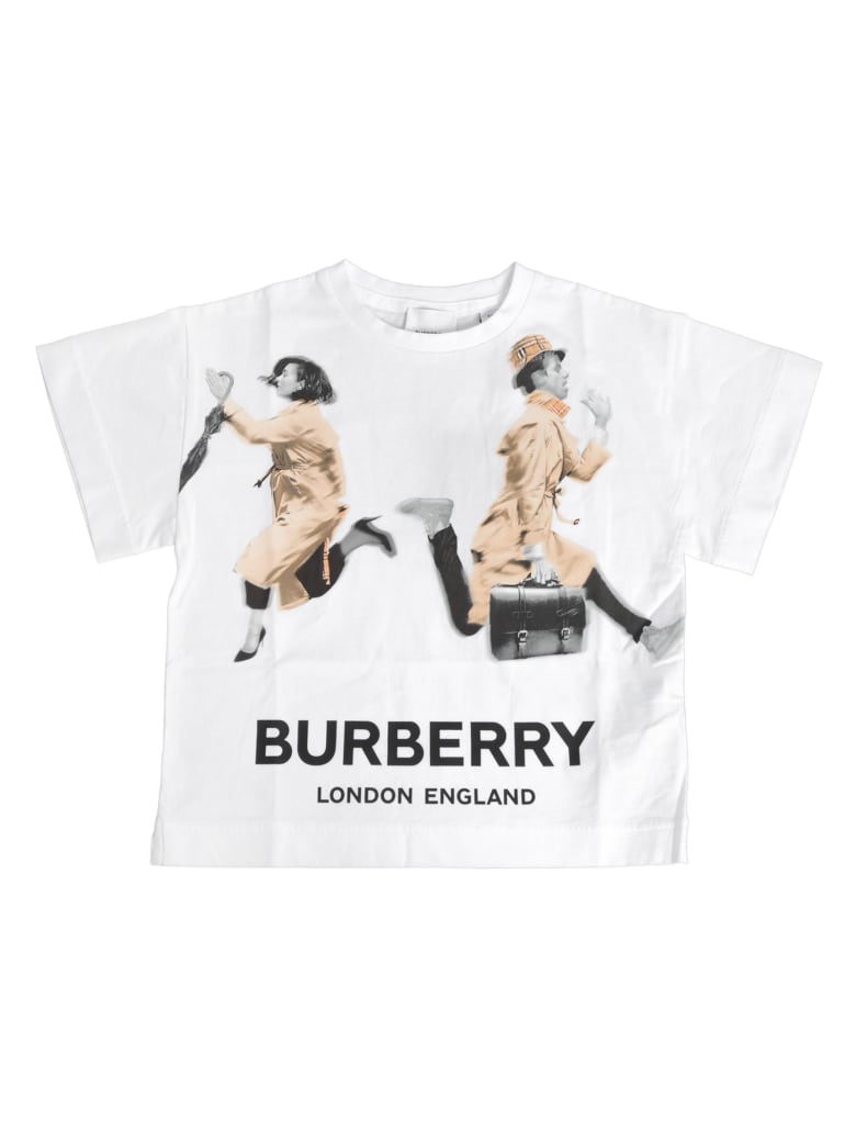 Burberry Blurred People T-shirt