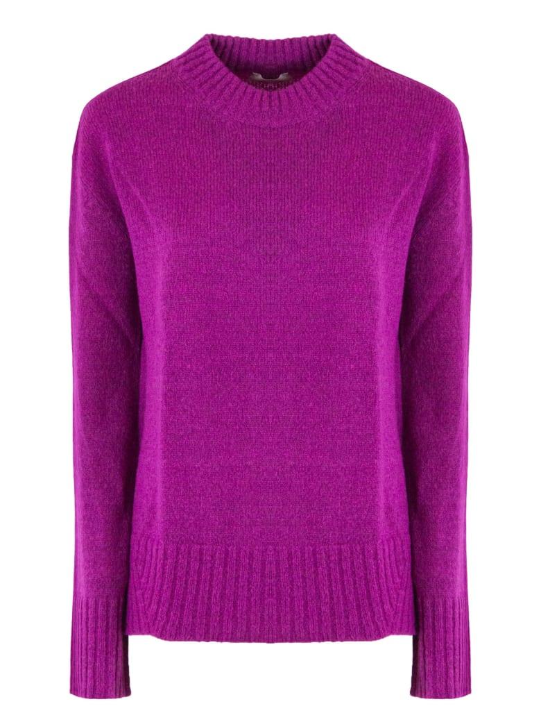 Dondup Fuchsia Wool Blend Sweater - Fuxia