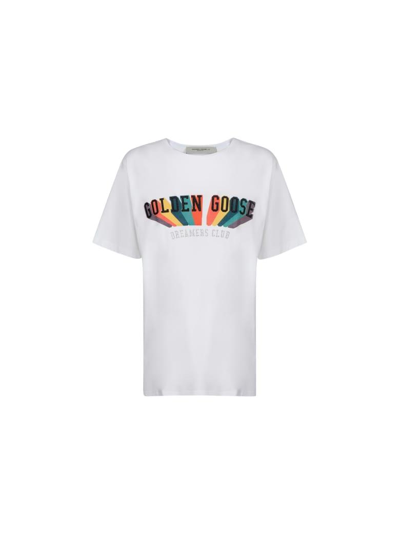 Golden Goose T-shirt - White/multicolor