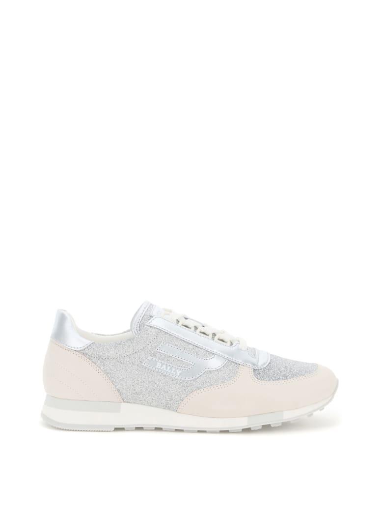 Bally Gavinia Glitter Sneakers - 02001 SILVER 17 (Silver)