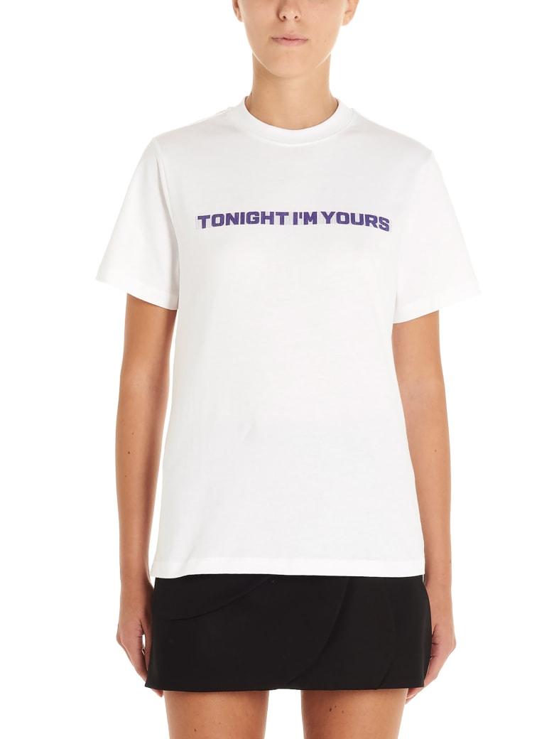 Coperni 'tonight Is Your' T-shirt - White