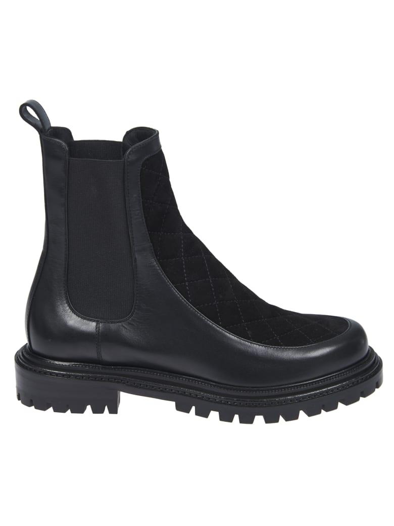Aquazzura Flat Drive Boots - Black