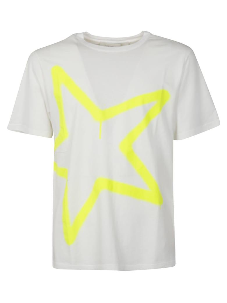 Golden Goose Adamo T-shirt - White/Yellow