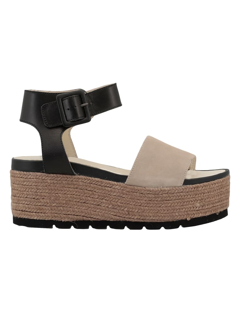 Espadrilles Query Sandal - BLACK/Suede