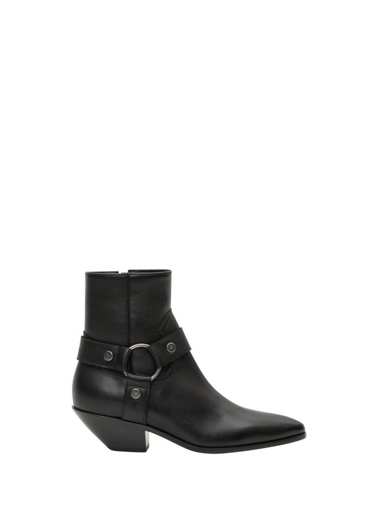 Saint Laurent West 45 Ankle Boots - Nero