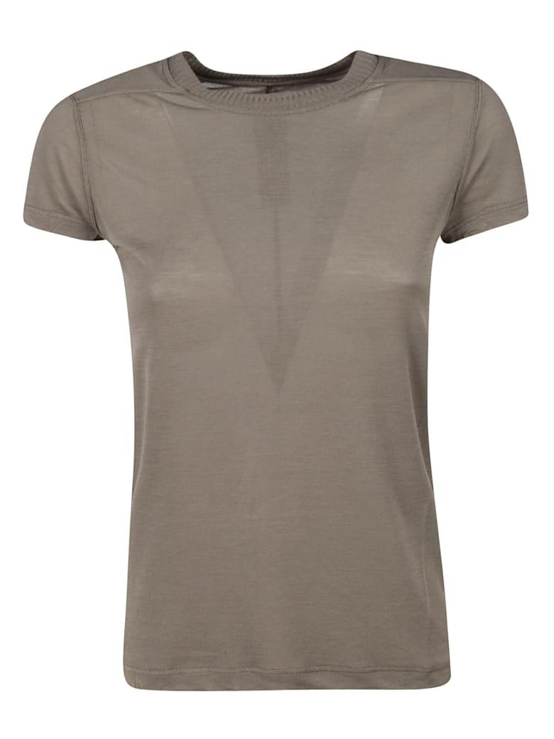 Rick Owens Slim Fit T-shirt - powder