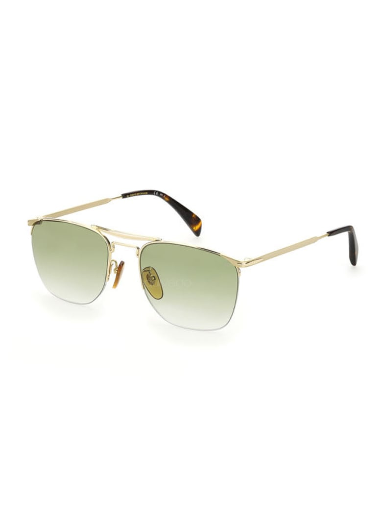 DB Eyewear by David Beckham DB 1001/S Sunglasses - K Gold