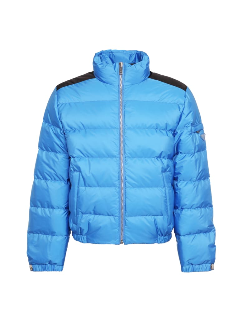 Prada Short Down Jacket - blue