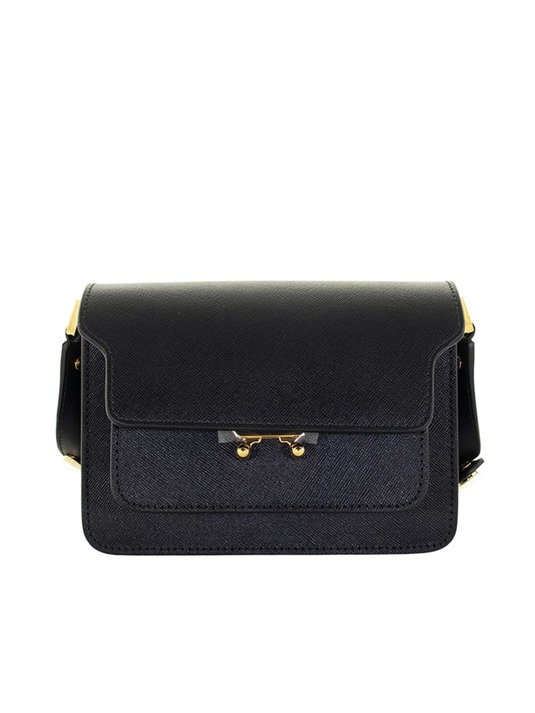 Marni Black Trunk Minibag - Black