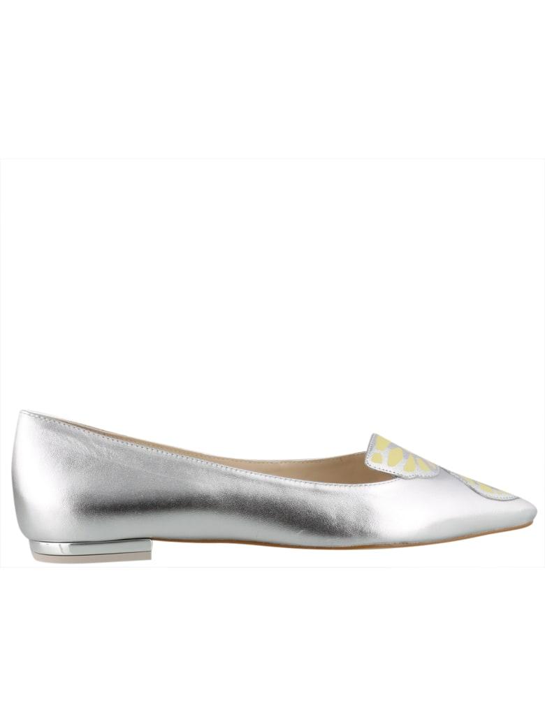 Sophia Webster Butterfly Ballets - Silver