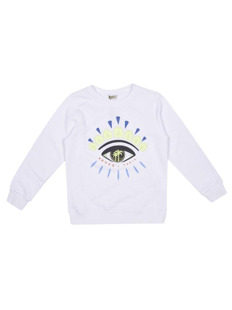 Kenzo Eye Sweatshirt - (optic White)