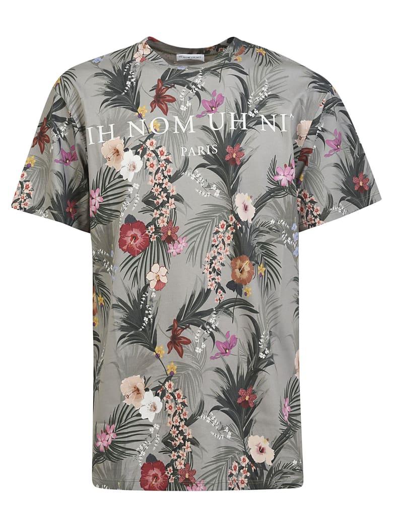 ih nom uh nit Flow & Logo Print T-shirt - AS SAMPLE