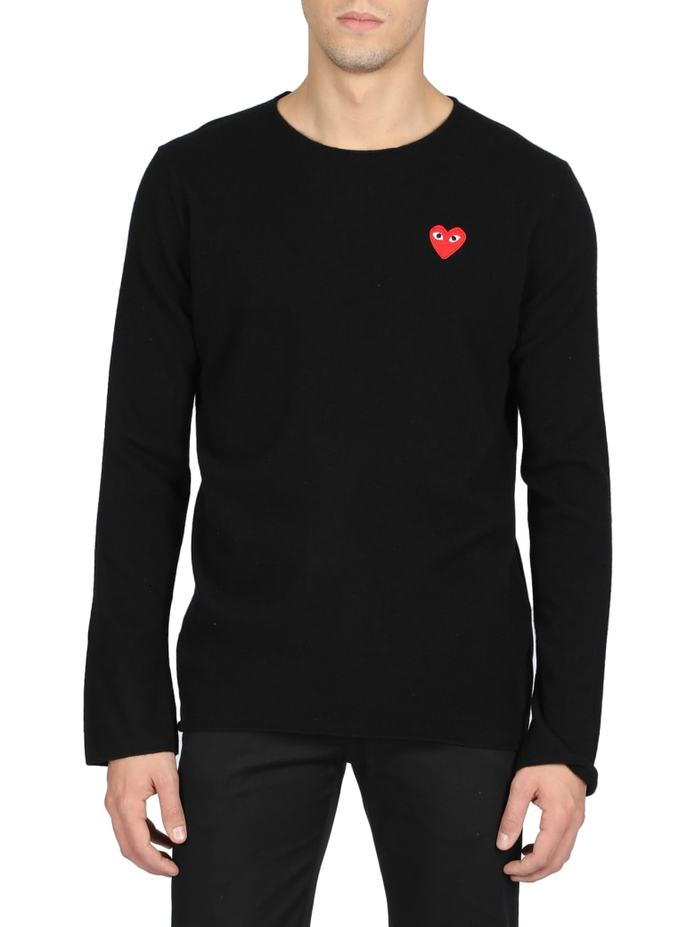 Comme des Garçons Play Sweater - Nero