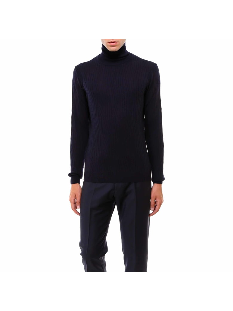 Corneliani Sweater - Blue