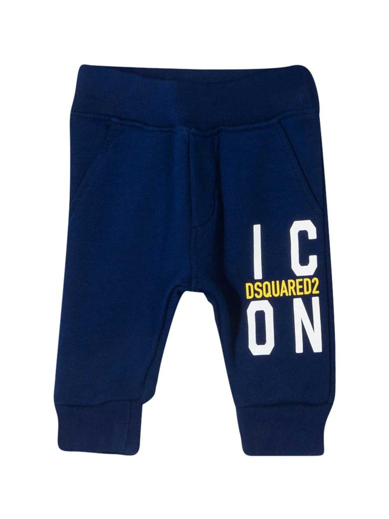 Dsquared2 Blue Sports Trousers - Blu