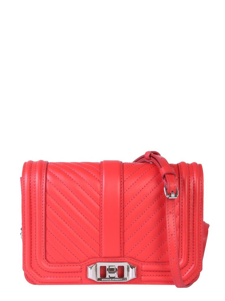 Rebecca Minkoff Small Love Crossbody Bag - ROSSO
