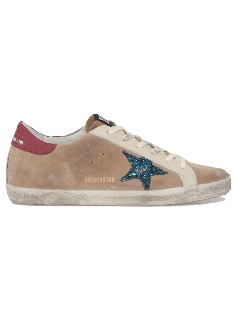 Golden Goose Superstar Sneaker - DESERTSUEDE-BLUEGLITTERSTAR