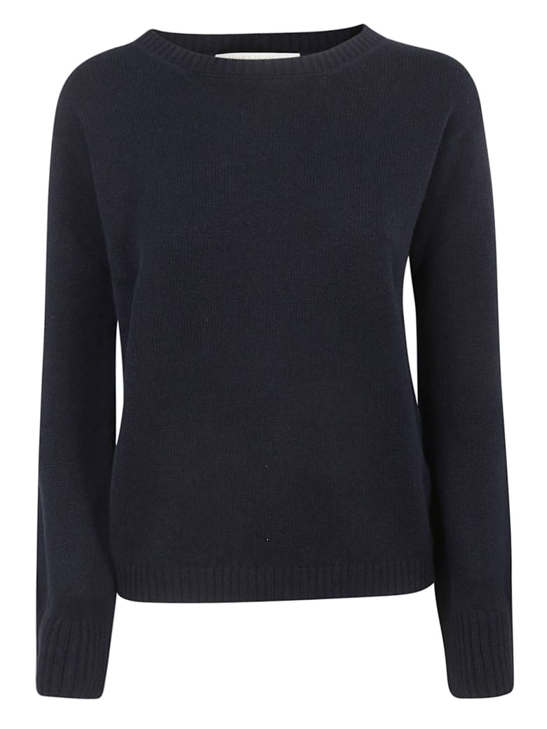 Saverio Palatella Round Neck Sweater - Navy