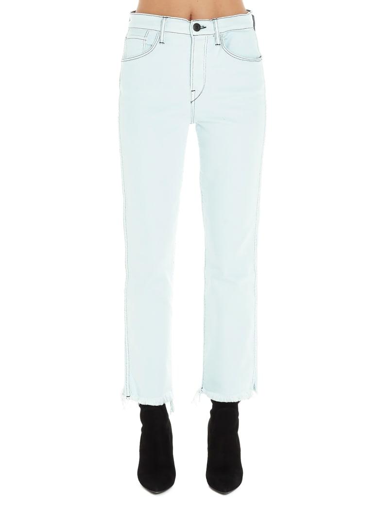 3x1 'austin Crop' Jeans - White