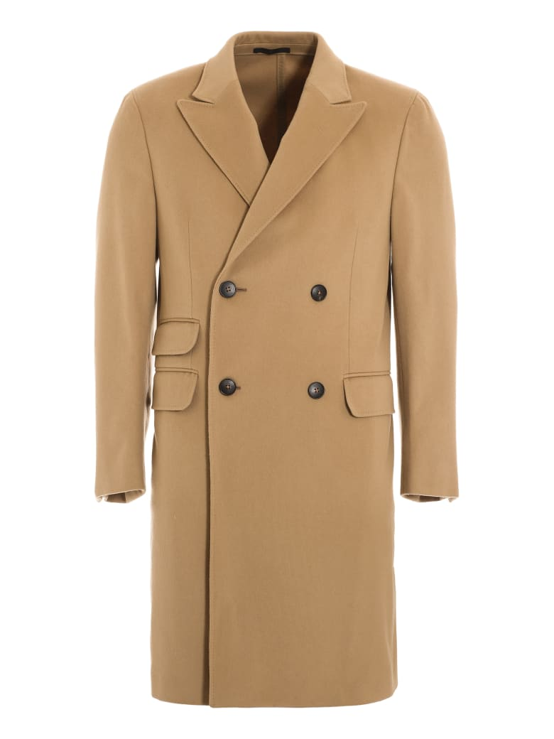 Z Zegna Double Breasted Wool Coat by Z Zegna